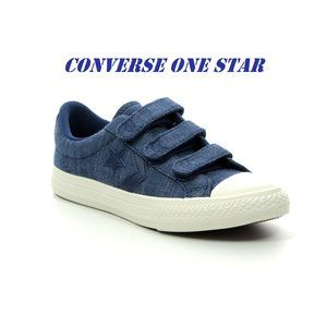 One Star Velcro Sneakers  Size 13